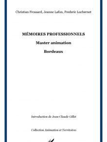 «Mémoires professionnels – Master Animation – Bordeaux»